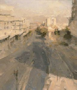 jaffa-road-jerusalem-2000-oil-on-canvas-66cm-x56cm-26%e2%80%b3x22%e2%80%b3